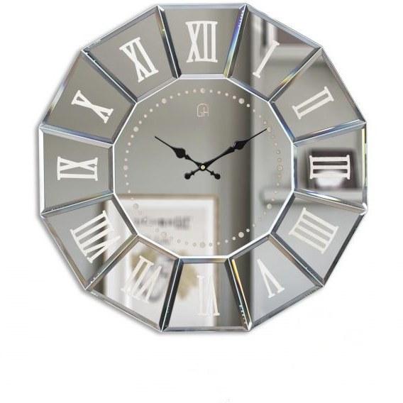 ساعت دیواری آیینه ای مدرن کد 60 /17003 |