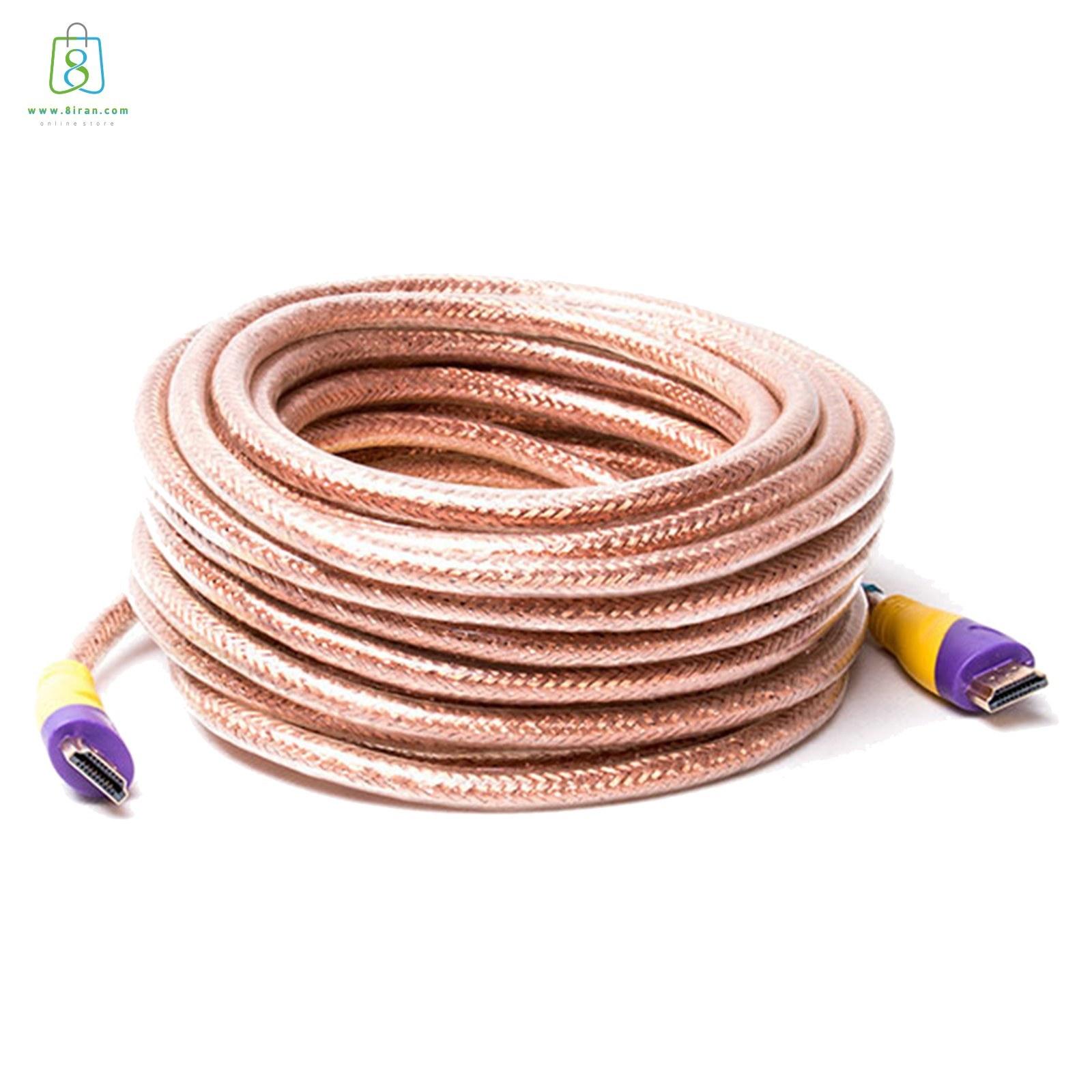 تصویر کابل HDMI اسکار  طول 30 متر HDMI cable 30 meters long