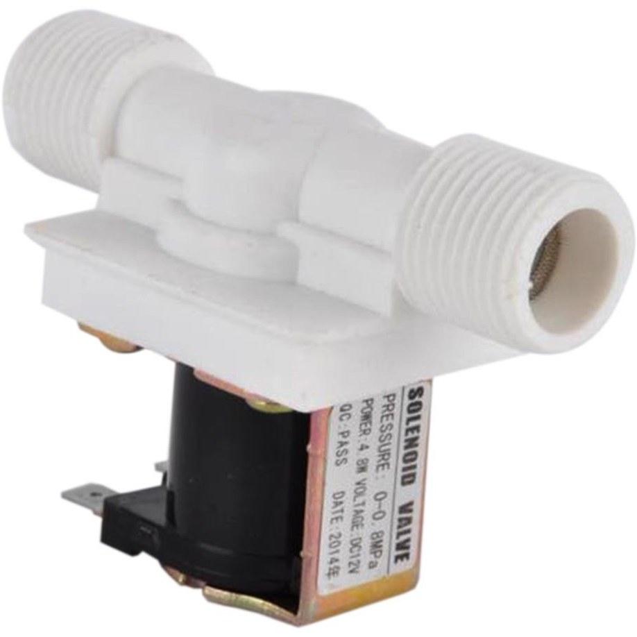 تصویر شیر برقی آب 12 ولت 1/2 اینچ نورمالی کلوز Solenoid water valve 12v