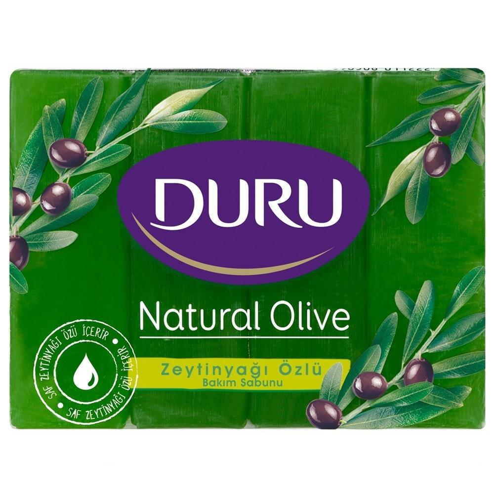 عکس صابون دورو مدل زیتون بسته 4 عددی DURU Naturel Olive Shower Bar صابون-دورو-مدل-زیتون-بسته-4-عددی