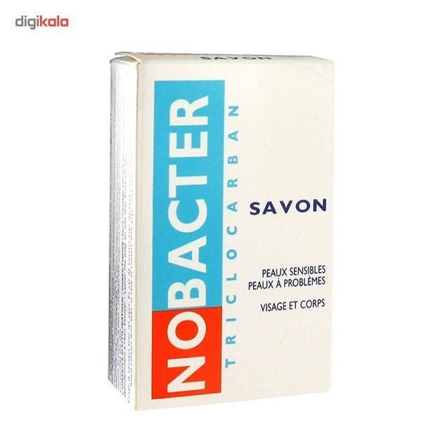 تصویر صابون ضدجوش و آنتی باکتریال نوباکتر اوسرین NOBACTER NOBACTER anti-boiling and antibacterial soap, volume 100 g