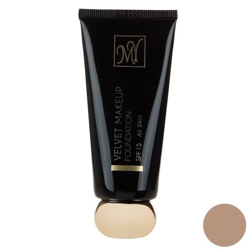 تصویر کرم پودر مای سری Black Diamond مدل Velvet Makeup شماره 03 MY Black Diamond Velvet Makeup Foundation No 03