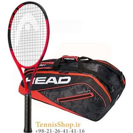 راکت تنیس هد سری Mx Attitude مدل Pro + ساک تنیس هد سری Tour Team مدل 9 راکته |