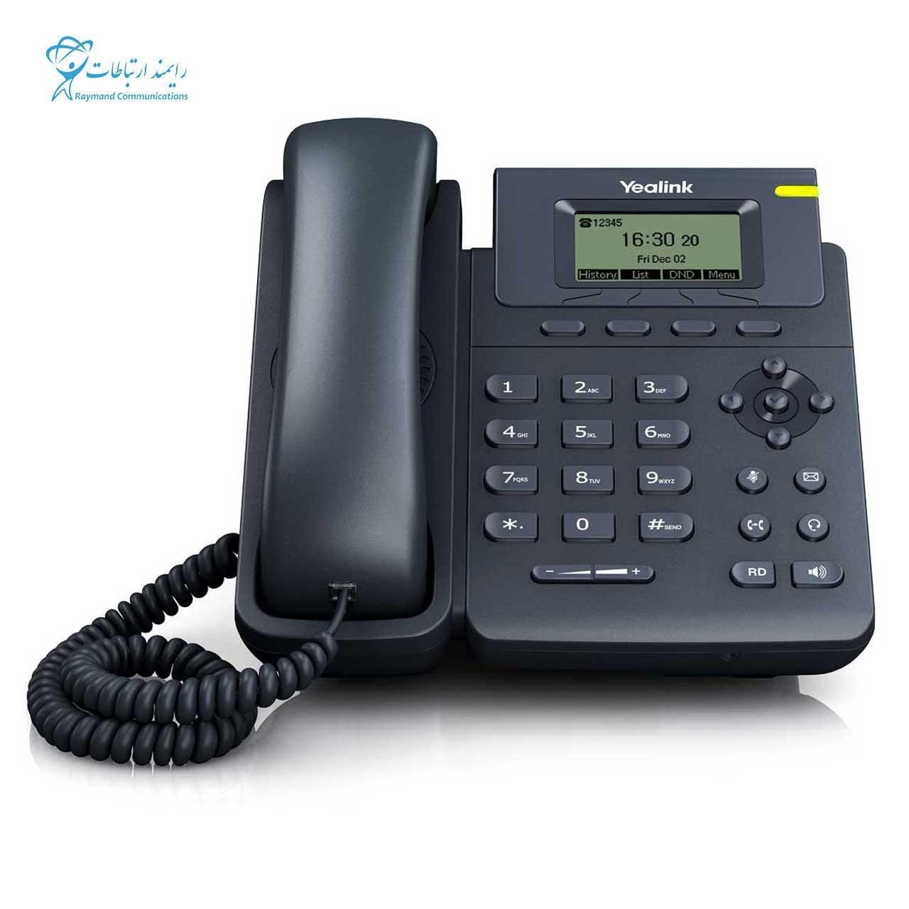 تصویر تلفن تحت شبکه یالینک T19-E2 YEALINK IP PHONE –SIP-T19-E2