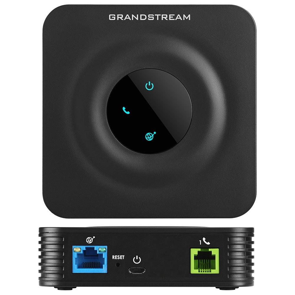 تصویر گیت وی ATA گرنداستریم ۱ پورت FXS مدل HT801 Grandstream HT801 Telephone Adapter