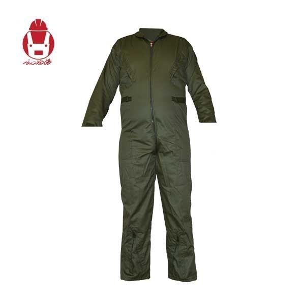 تصویر لباس کار یکسره خلبانی (پیمانکاری)
