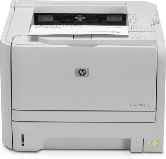 تصویر پرینتر لیزری اچ پی مدل LaserJet P2035 HP LaserJet P2035 Laser Printer