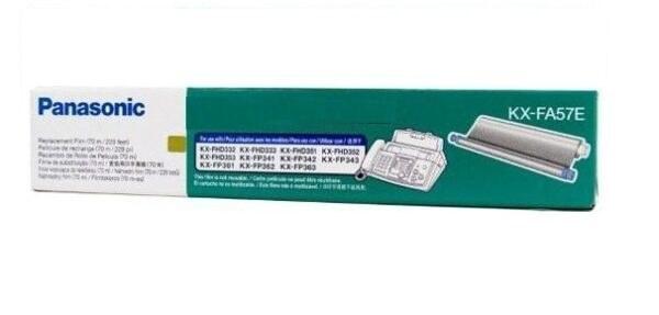 main images رول فکس پاناسونیک مدل KX-FA57E Panasonic KX-FA57E Fax Roll