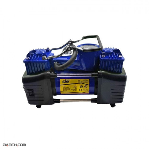 تصویر کمپرسور باد خودرو اسکای Sky Car Air Compressor Sky Car Air Compressor
