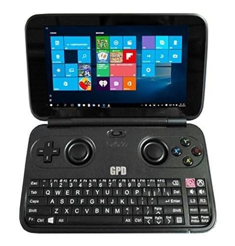 نسخه GPD WIN آلومینیوم شل خداوند برنده، لپ تاپ نوت بوک گیم لپ تاپ، کنسول دستی بازی ویدئویی ویندوز