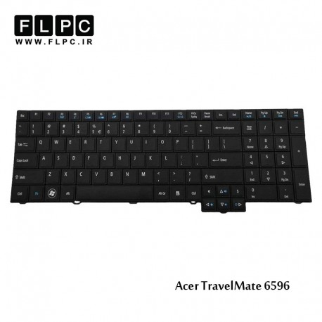 تصویر کیبورد لپ تاپ ایسر Acer TravelMate 6596 Laptop Keyboard