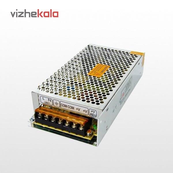 تصویر آداپتور 12 ولت 20 آمپر فلزی فن دار Power Supply 12v 20A