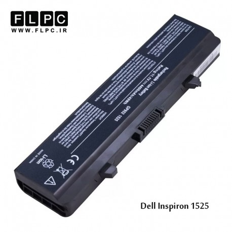 باتری 6 سلولی مدل 1525 مناسب برای لپ تاپ دل             غیر اصل