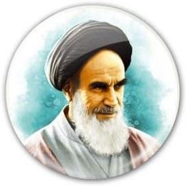 پیکسل طرح تصویر امام خمینی کد 1235