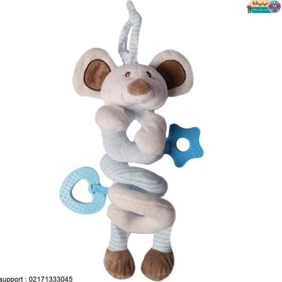 آویز تخت و کریر و کالسکه کودک موش کد 002  