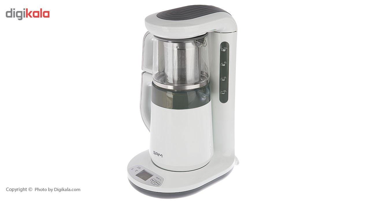 تصویر چای ساز سام مدل TM-A411W ا SAM TM-A411W Tea Maker SAM TM-A411W Tea Maker