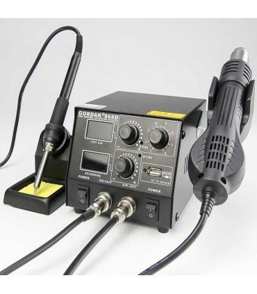 تصویر دستگاه هیتر و هویه GORDAK 868D