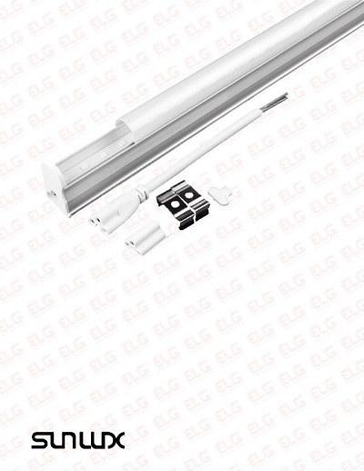 تصویر چراغ زیر کابینتی 18 وات 120 سانتی T5 بدنه آلومینیوم   سان لوکس