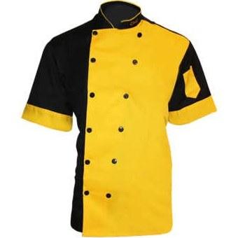 لباس کار مدل چف IGD رنگ زرد |