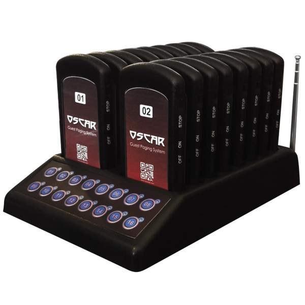 تصویر مشخصات -  قیمت                      پیجر فراخوان مشتری اسکار مدل OGP160