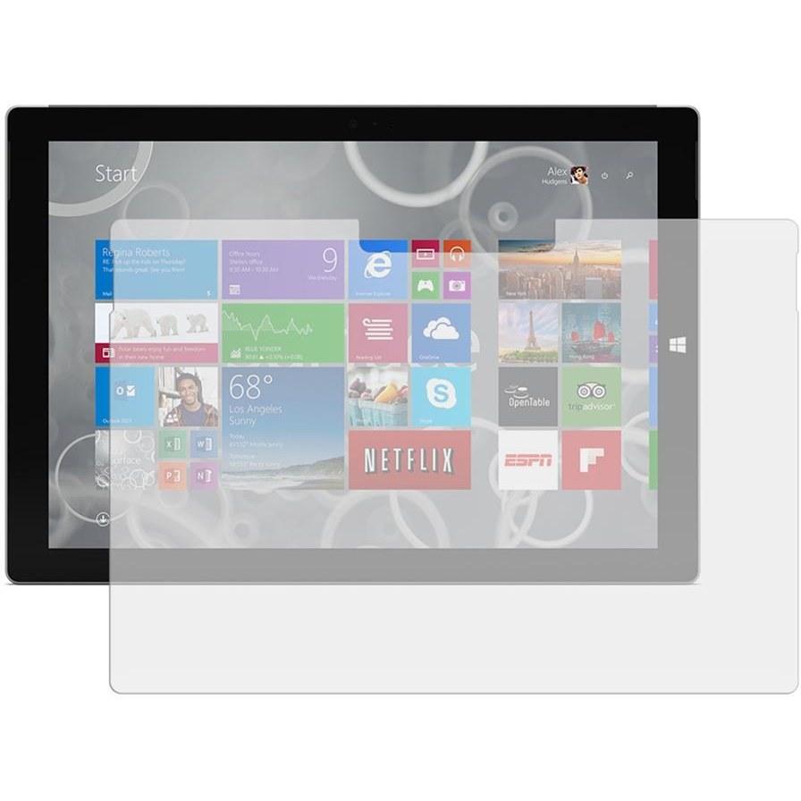 تصویر محافظ صفحه نمايش شيشه اي مناسب براي تبلت مايکروسافت Surface Pro 4