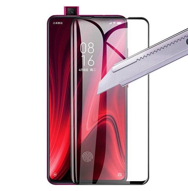 گلس شیائومی Xiaomi Mi 9T Pro تمام صفحه و تمام چسب |