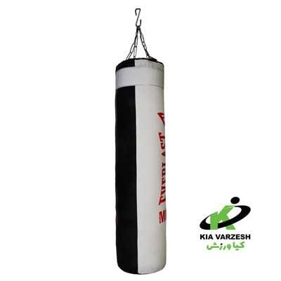 تصویر کیسه بوکس 120 سانتی کانتینری حرفه ای 120 cm two color professional boxing bag