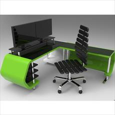 عکس میز کامپیوتر طراحی شده در سالیدورک و کتیا  میز-کامپیوتر-طراحی-شده-در-سالیدورک-و-کتیا