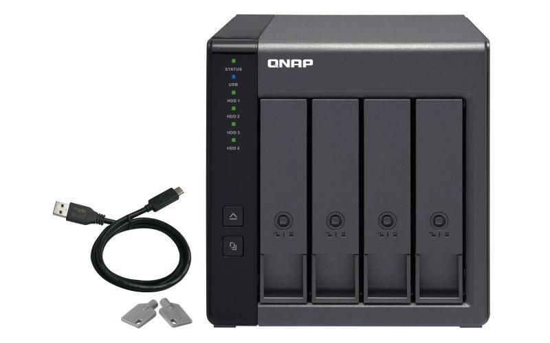 تصویر مشخصات ، قیمت و خرید ذخیره ساز کیونپ QNAP TR-004 STORAGE QNAP TR-004