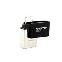 تصویر فلش مموری کینگ استار مدل S20 ظرفیت 32 گیگابایت Kingstar S20 Flash Memory - 32GB