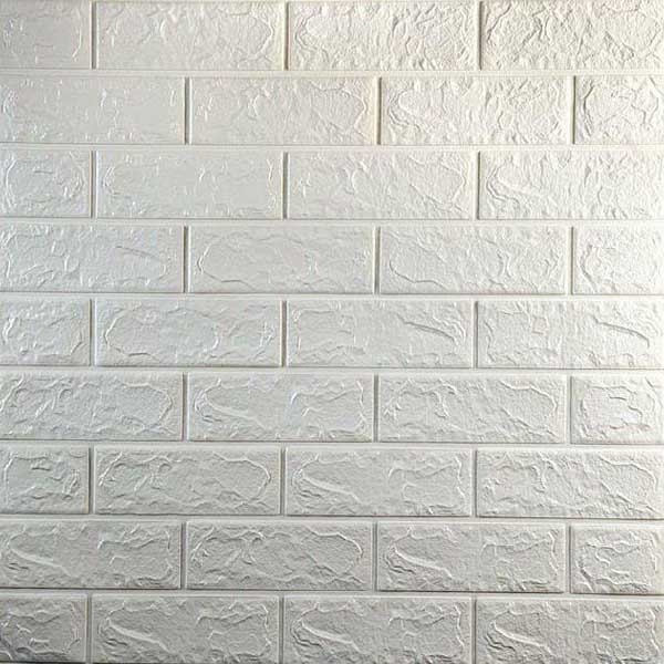 تصویر دیوارپوش فومی چسبی طرح آجر