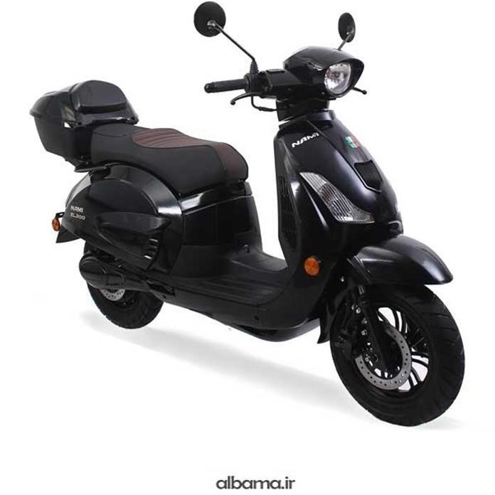 تصویر موتور سیکلت برقی MLN 3000 W لیتومی نامی