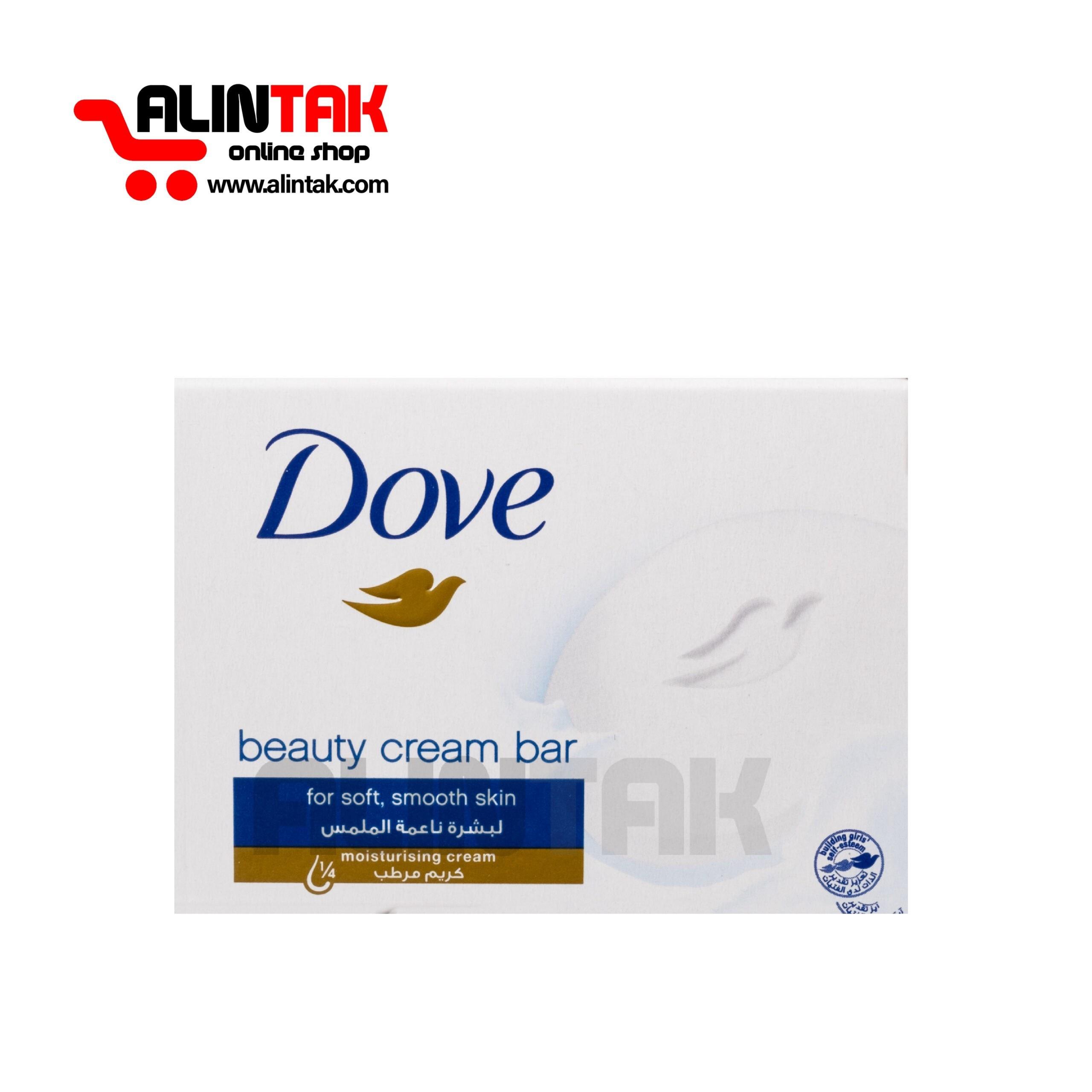 تصویر صابون داو beauty cream bar وزن 100 گرم