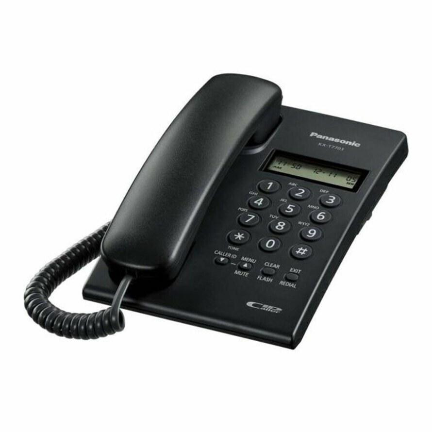 تصویر تلفن رومیزی پاناسونیک KX-TT 7703 KXTT 7703