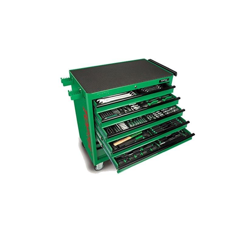 جعبه ابزار 8 کشو بزرگ 360 پارچه JUMBO تاپ تول TOPTUL مدل GT-36001 |