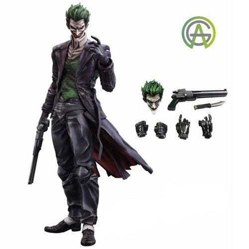 The Joker Arkham Origins Figure by Play Arts اکشن فیگور شخصیت جوکر |
