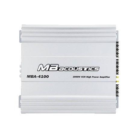 تصویر MB Acoustics MBA-4100 Car Amplifier