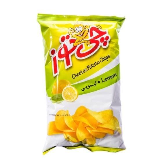 تصویر چیپس لیمویی چی توز ۶۰ گرمی -