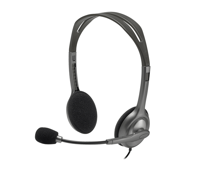 عکس هدست استریو باسیم لاجیتک مدل H111 Logitech H111 cable stereo headset model هدست-استریو-باسیم-لاجیتک-مدل-h111