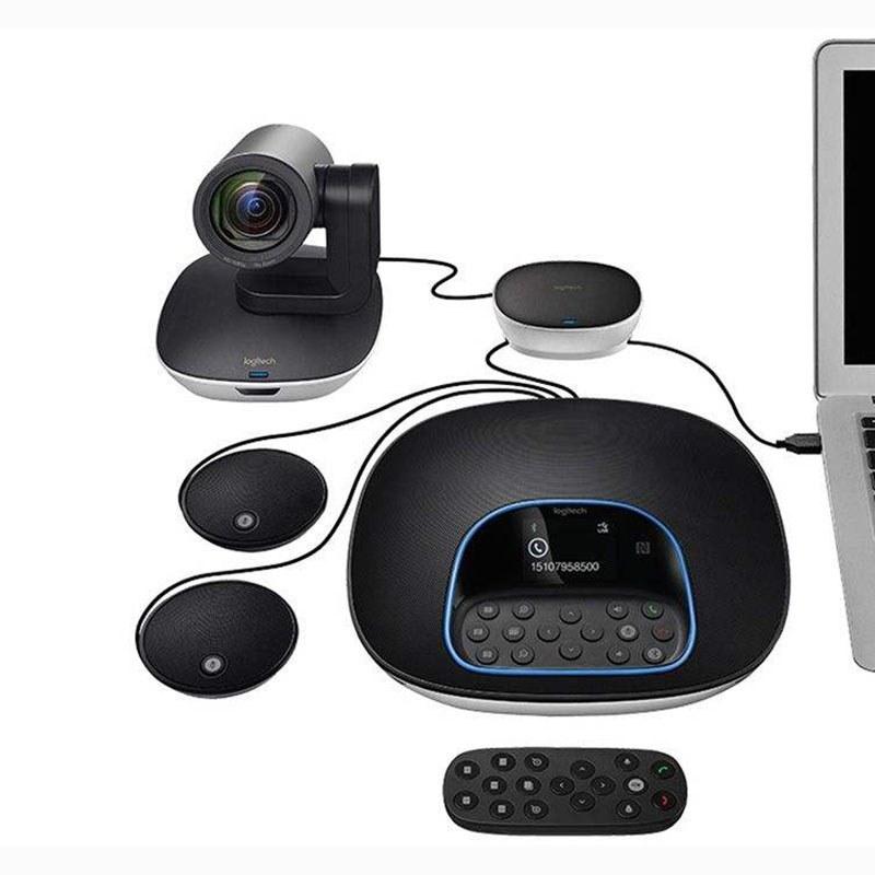 تصویر ویدئو کنفرانس لاجیتک مدل Group Logitech GROUP Video Conferencing System