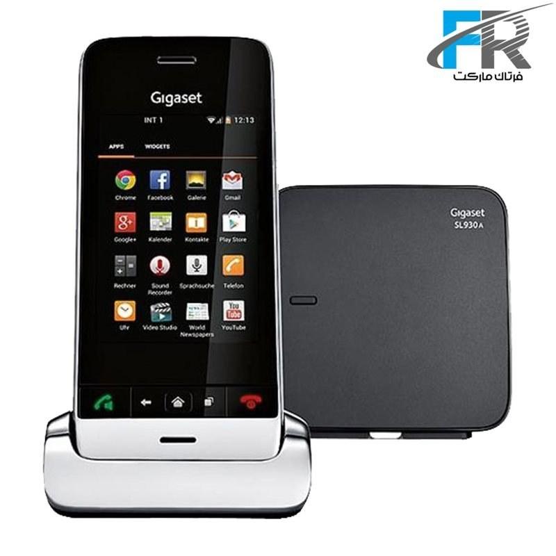 تصویر گوشی تلفن بی سیم لمسی گیگاست مدل SL930A Gigaset SL930A Wireless Phone