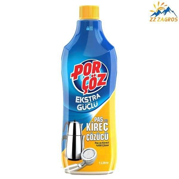 مایع جرم گیر پورچوز حجم ۱۰۰۰ میل  PORCOZ