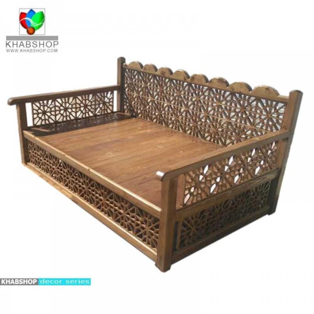تصویر تخت چوبی سنتی 4نفره کد CH671
