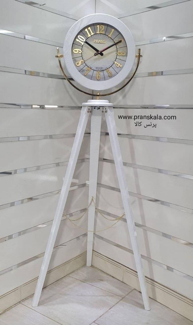 تصویر ساعت ایستاده چوبی پرنس مدل تلسکوپی کد۱۸