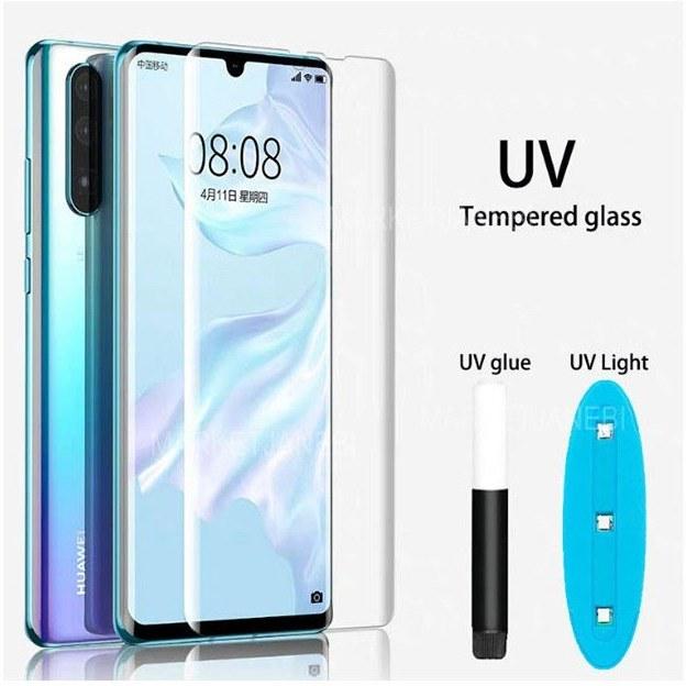 محافظ صفحه نمایش شیشه ای UV برای Xiaomi Mi Note 10