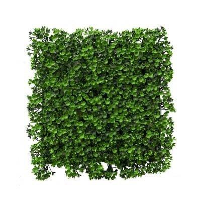 تصویر دیوار سبز مصنوعی شکوفه Mana Chaman
