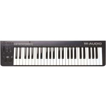 کیبورد میدی کنترلر ام-آدیو مدل KEYSTATION 49 II | M-Audio KEYSTATION 49 II Midi Controller Keyboard