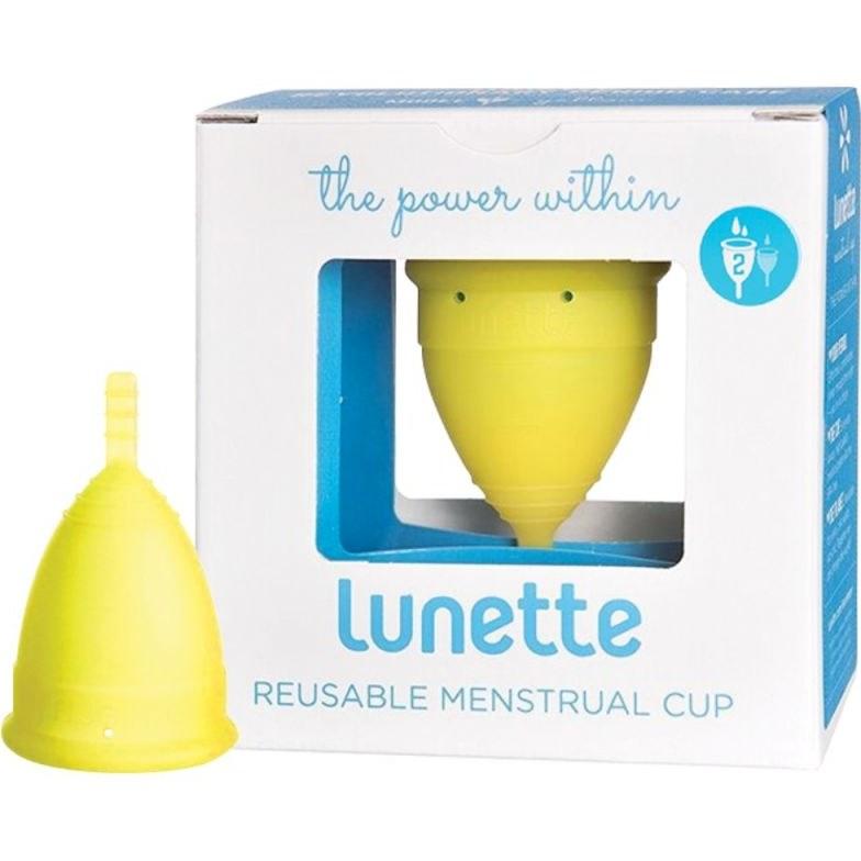 عکس کاپ قاعدگی لونت سایز 2 - زرد Lunette Menstrual Cup Size 2 Yellow کاپ-قاعدگی-لونت-سایز-2-زرد