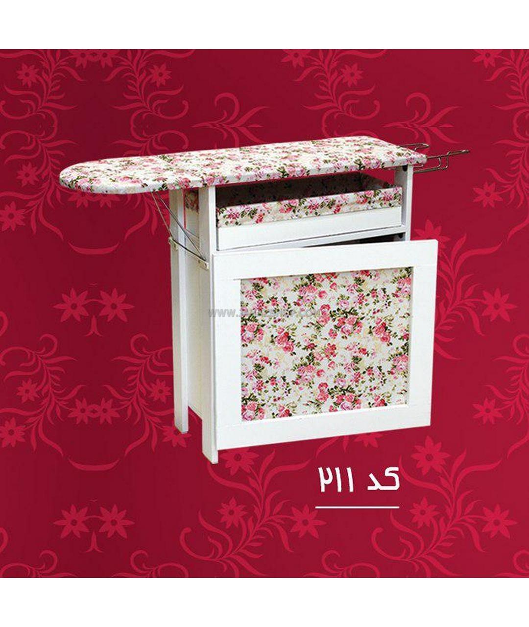 عکس میز اتو چوبی باکس دار کد ۲۱۱  میز-اتو-چوبی-باکس-دار-کد-211