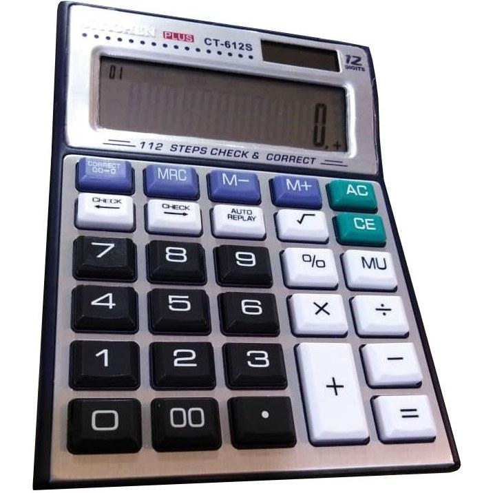 تصویر ماشین حساب مدل CT-612S